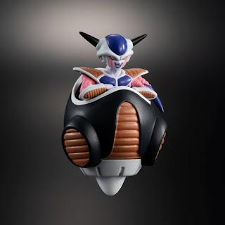 Dragon Ball Z High Grade Freezer Army Invasion: Freezer, Dodoria y Zarbon, de Bandai.