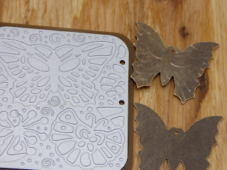 Vintaj Embossing plates and butterfly blanks