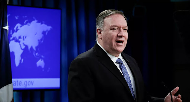 بومبيو يتهم طهران بإخفاء أرشيف بيانات الأسلحة النووية