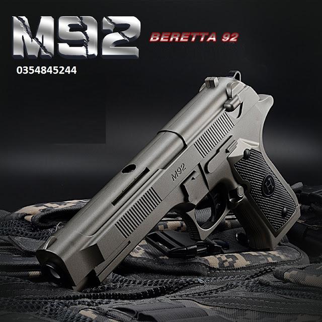 Súng lục bắn đạn thạch liên thanh M92