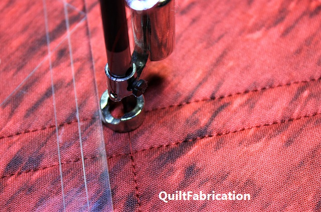 lock stitches after a jump stitch