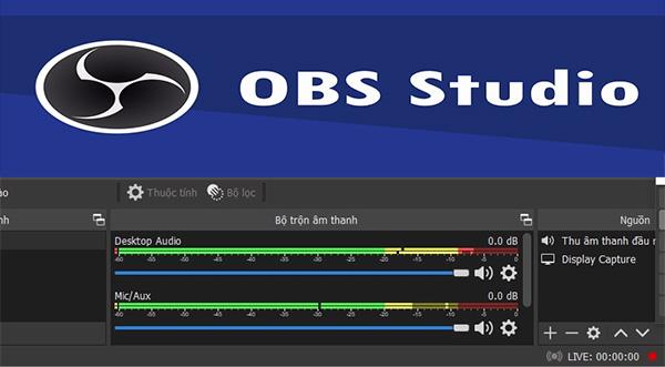 Tải OBS Studio 64bit - Quay màn hình, live stream Facebook, Youtube đơn giản a