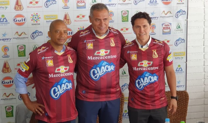 Inició la era Torres en DEPORTES TOLIMA, con la mente puesta en avanzar en Libertadores