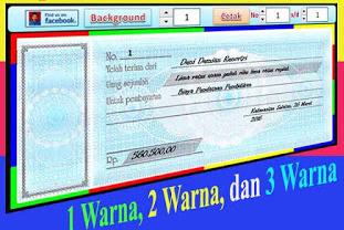 Download File Aplikasi Kwitansi Berwarna Bendahara Sekolah Berbasis Excel Gratis