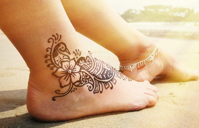 Indian Mehendi Designs Feets