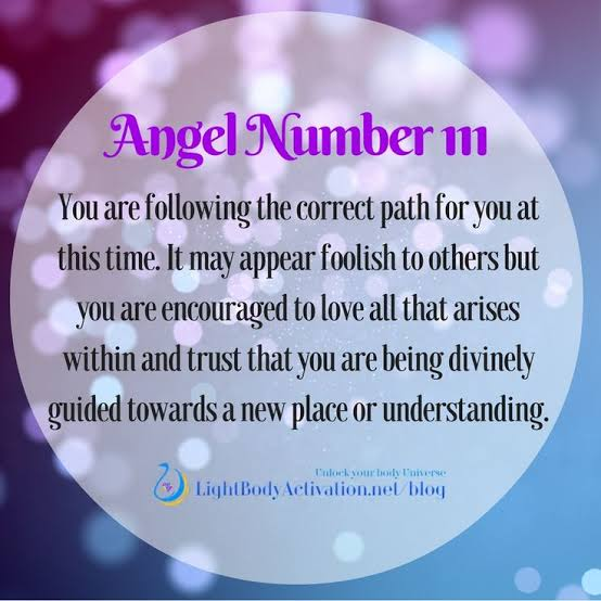 111 Importance of angel number