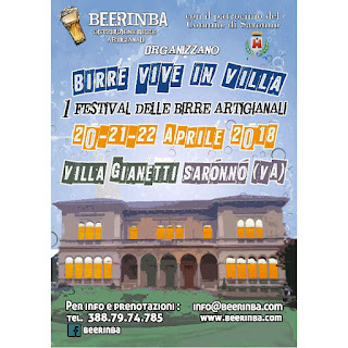 Birre vive in Villa 20-21-22 Aprile Saronno (VA)