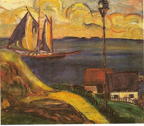 O Barco - Anita Malfatti e suas principais pinturas ~ Pintora brasileira