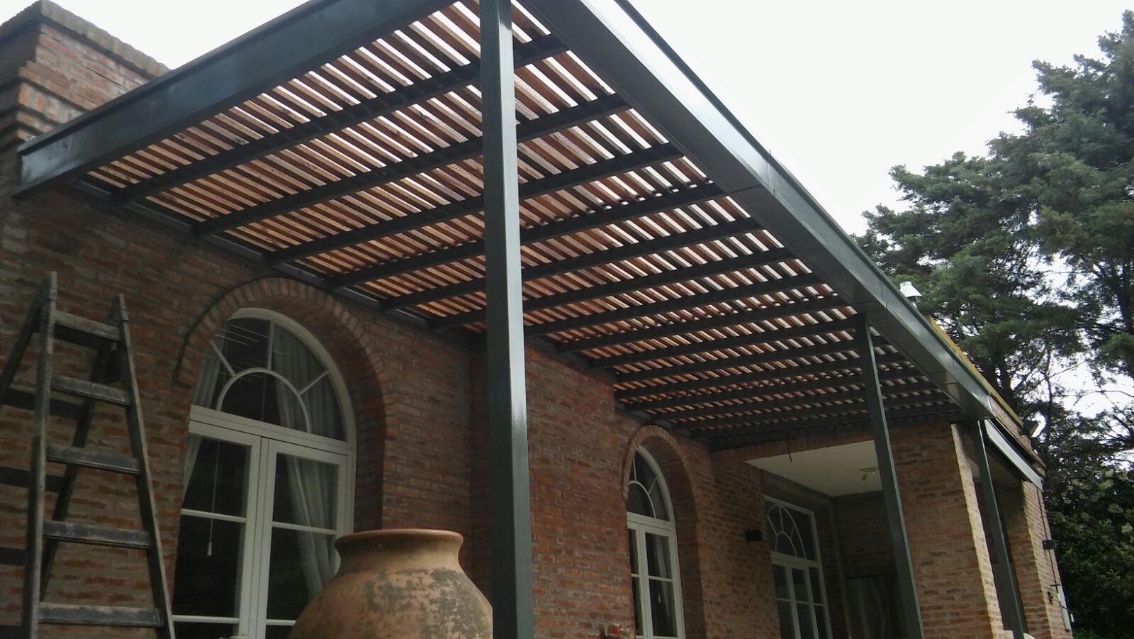 Techo de policarbonato pergolas aleros octubre 2015 for Pergola policarbonato