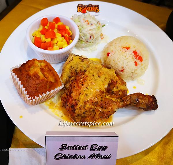 KRR Egg-Citing Salted Egg Chicken Meal