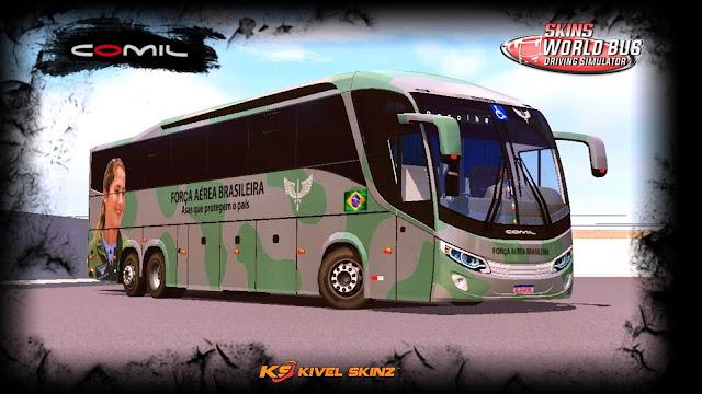 COMIL 1200 6X2 - FAB - FORÇA AÉREA BRASILEIRA EXÉRCITO
