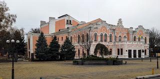 Прилуки. Черниговская обл. «Театр Бродского», сейчас – Дом культуры