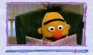 These are happy eyebrows and this time Bert looks happy. Elmo's World Eyes Video E-Mail