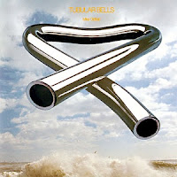 Portada del LP de Mike Oldfield: Tubular Bells, Virgin, 1973, fuente wikimedia