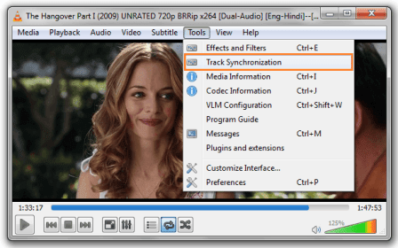 adjust subtitle timing vlc
