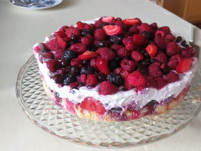 Beeren-Quark-Torte
