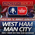 Prediksi Pertandingan - West Ham United vs Manchester City 7 Januari 2017 Piala FA