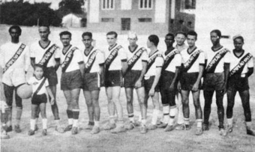 Dito, Chupapalha, Uir, Gerbes, Edgar Curvo, Sá, Pinto, Cajabi, Mingote, Leônidas e Uirton