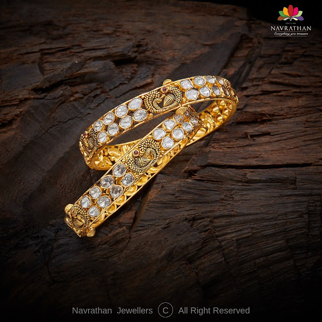 Trendy Bangles from Navrathan Jewels