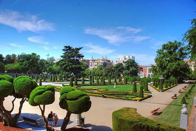 Parques em Madri