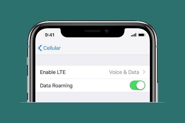 Aktifkan Data Roaming Agar Jaringan Seluler Tidak Tersedia Menjadi Normal