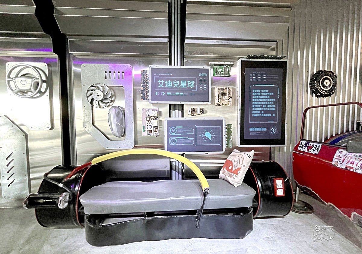 台南景點︱永康  zero zero 拆車夢工廠 ︱ 科幻感的蒸氣朋克工業風格︱台南最新IG打卡點