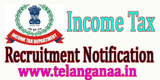 Income Tax Department Recruitment Notification 2016 Apply online