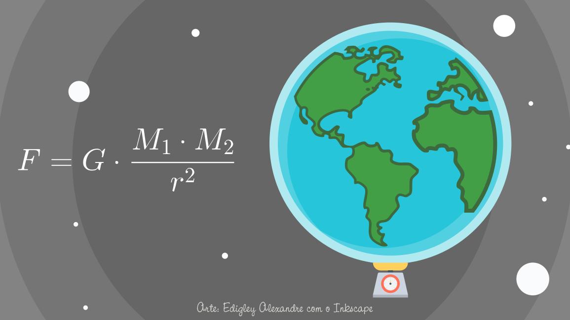 """Como se calcula o """"peso"""" da Terra?"""