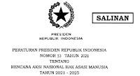 Rencana Aksi Nasional Hak Asasi Manusia (RANHAM) Tahun 2021  - 2025