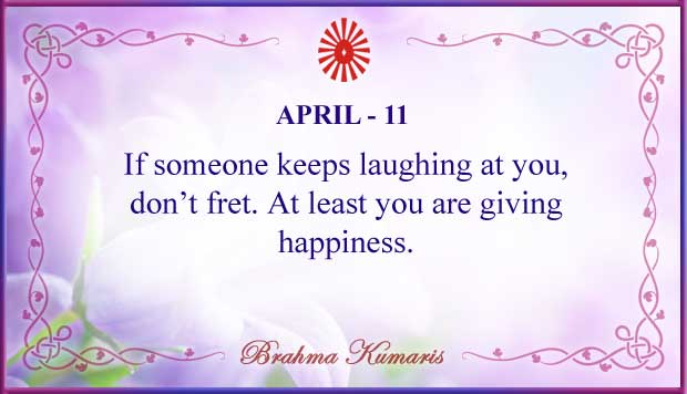 Thought For The Day April 11