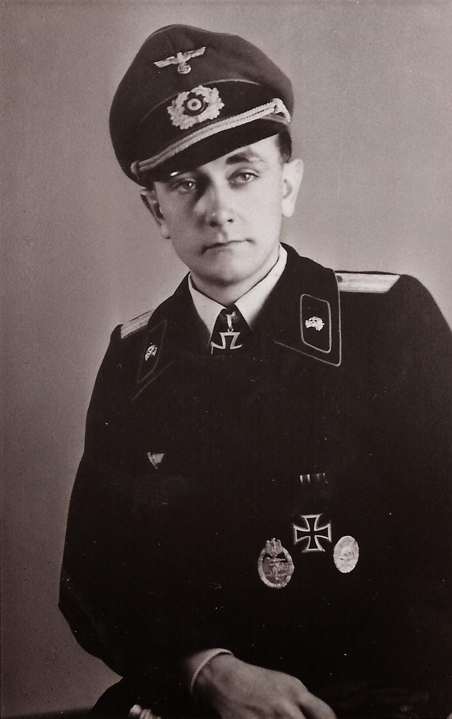 nazi jerman oberleutnant der reserve otto carius 1922