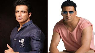Akshay Kumar and Sonu Sood return to the sets of Prithviraj