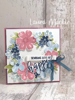 Stampin up pretty perenials