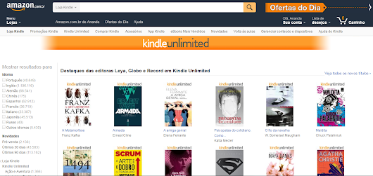 Kindle Unlimited: Vale a pena?