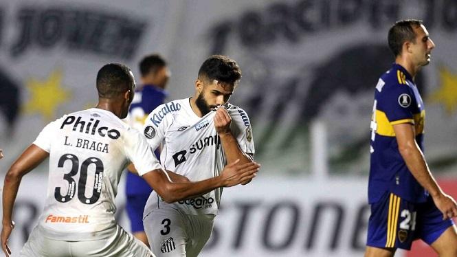 Copa Libertadores: Boca perdió contra el Santos en Brasil