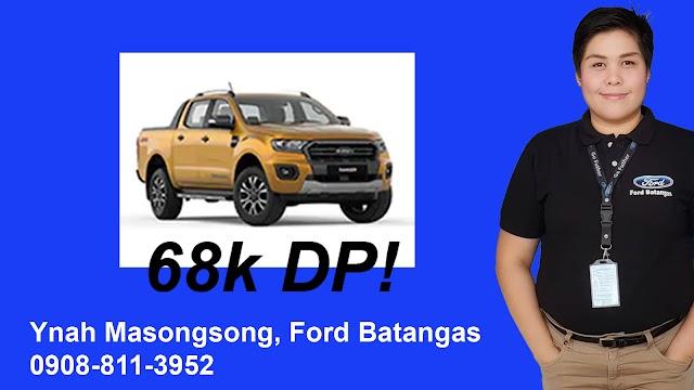 2019 Ford RANGER as low as 68k Downpayment - Ynah Masongsong