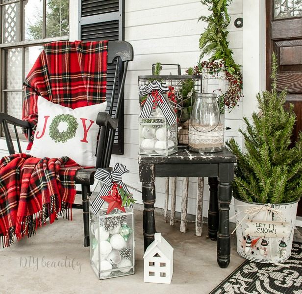 festive front porch