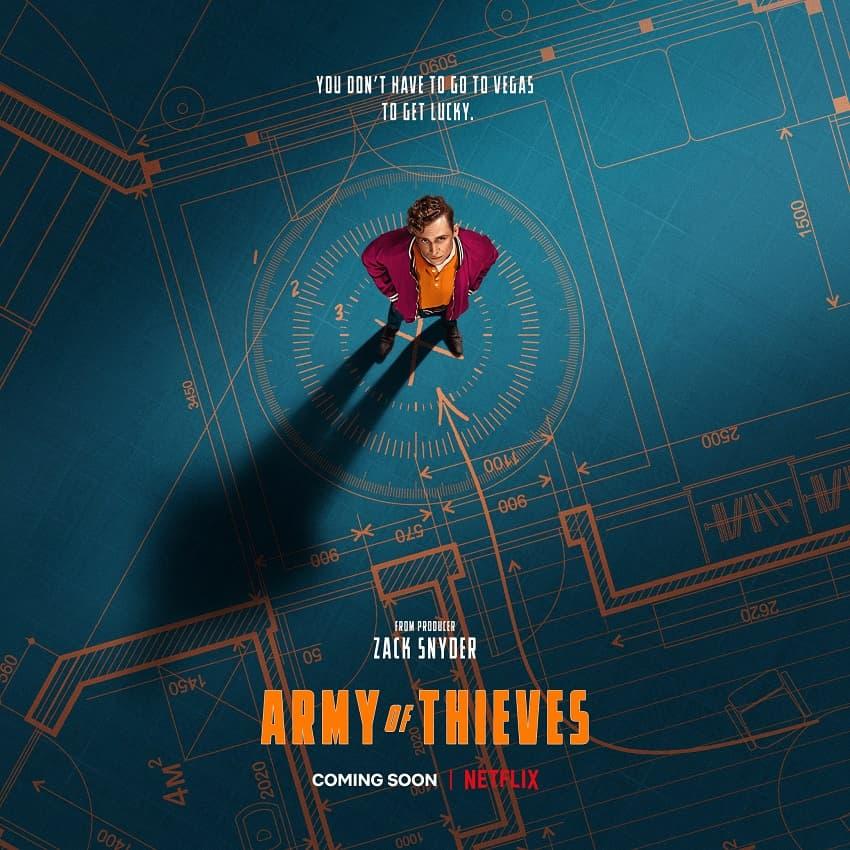 Netflix показал трейлер фильма «Армия воров» - Постер