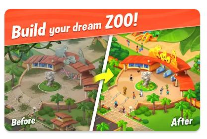 لعبة حديقة Wildscapes  آخر إصدار للأندرويد
