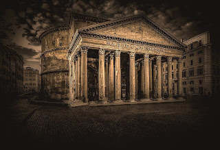 Exterior del Panteón de Agripa