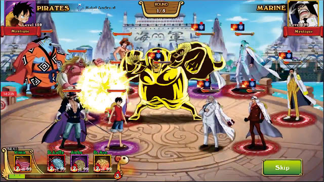 Game One Piece Pirates War Of Marine Android