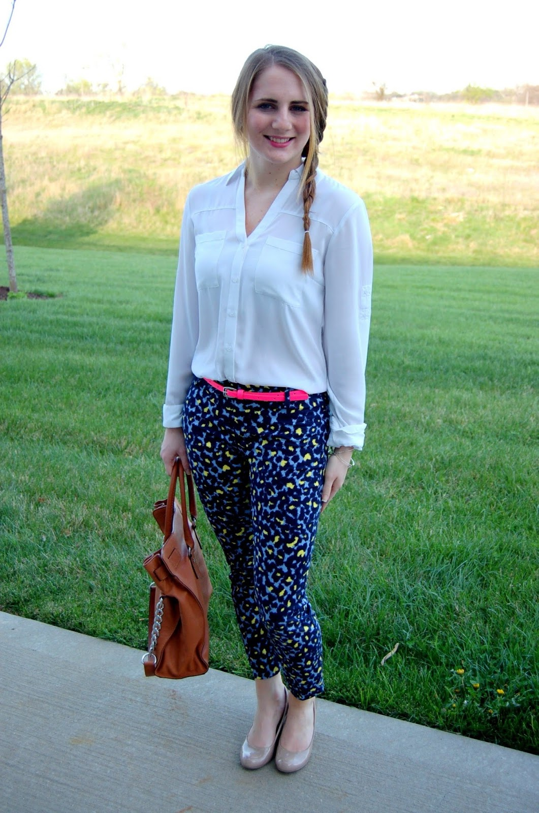 styling leopard pants | a memory of us blog
