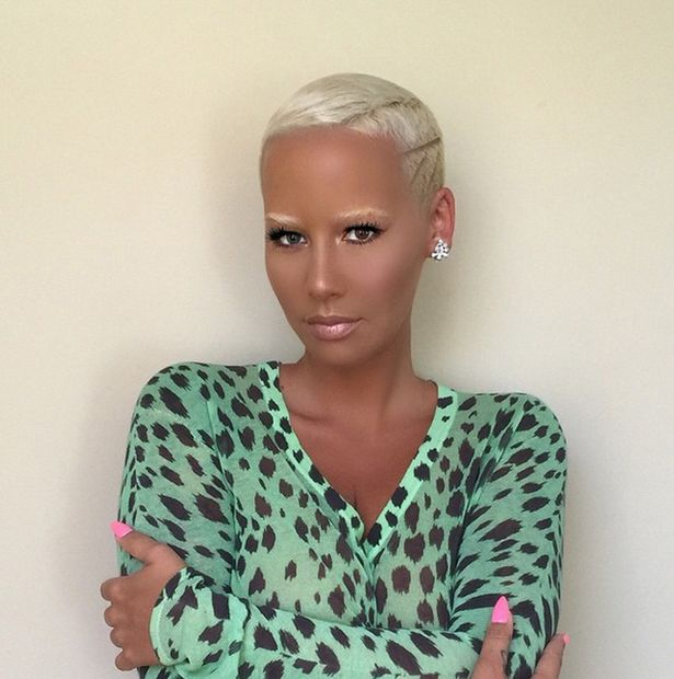 Pleasing All Stuff Zone Amber Rose Haircut Hairstyles Short Hairstyles For Black Women Fulllsitofus