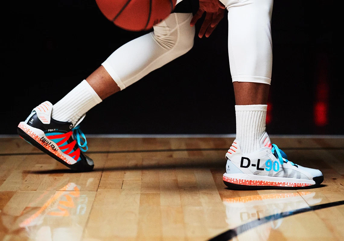 Image result for Pusha T x Adidas Dame 6