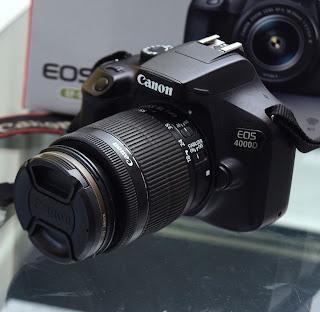Jual Kamera Canon Eos 4000D Lensa Kit STM Fullset