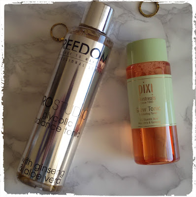 Glow Tonic Pixi vs Freedom Glycolic Tonic