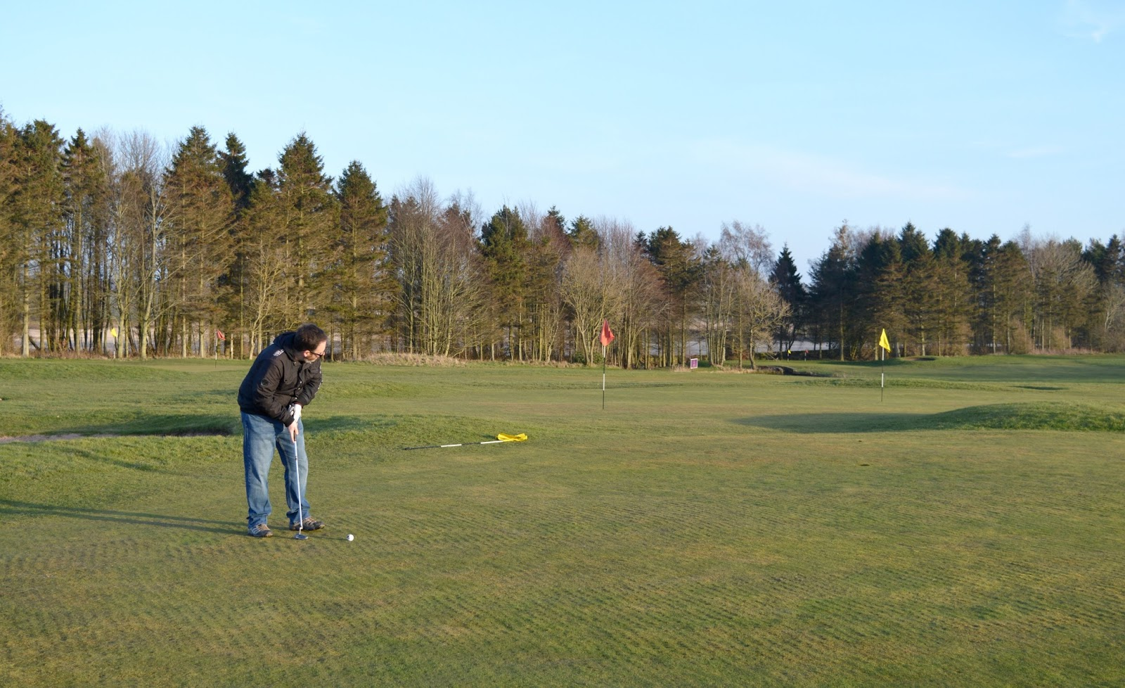 Golf at Matfen Hall