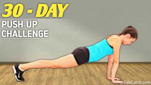 How To Do A Proper Push Up For 30 Days