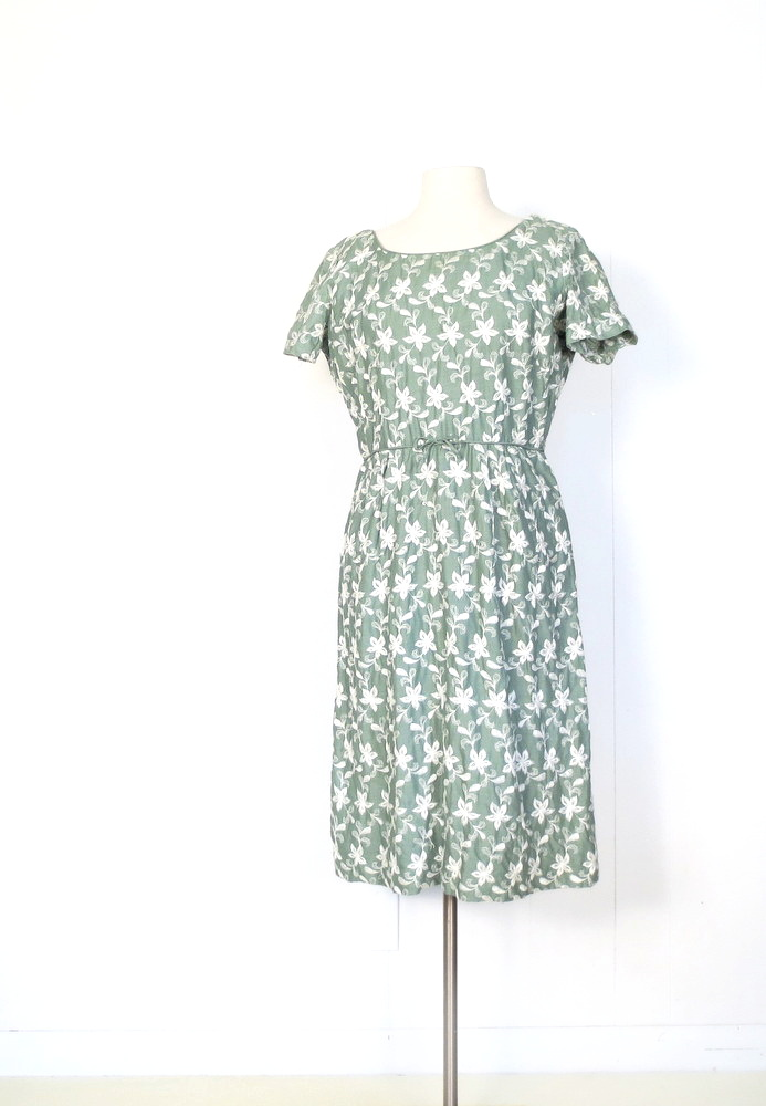 Small Earth Vintage Gorgeous 1950s Dresses A Crochet