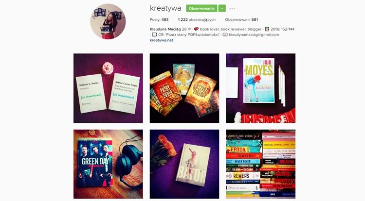 klaudyna maciąg bookstagram kreatywa